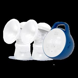 Tire lait-Seinbiose moon pro et téterelles 3D coté