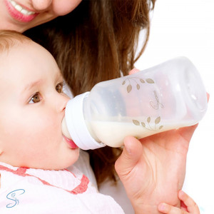Seinbiose biberon bébé et maman