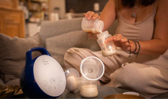 Boite de 6 flacons de conservation du lait maternel - Seinbiose -