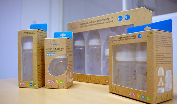 Biberons anti-colique en PP, verre ou PPSU, sans BPA - Seinbiose